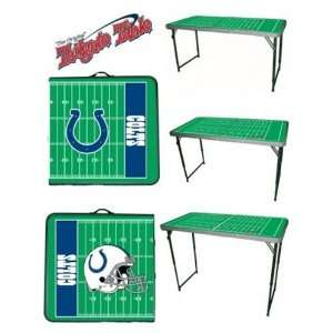 New Indianapolis Colts NFL Tailgate Party Team Table