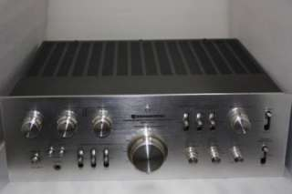 Collectible Vintage KENWOOD Model 600 Stereo Integrated Amplifier