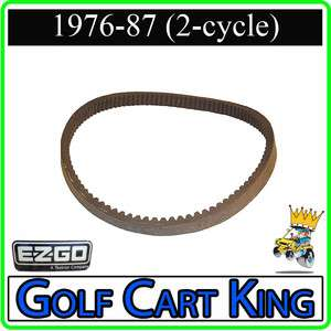EZGO Drive Belt 2 cycle (1976 87) Gas Golf Cart  Fits Marathon 2pg