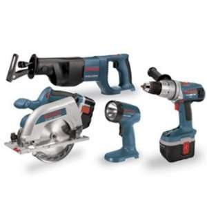 Bosch CPK40 24 RT 24 Volt Ni Cad Cordless 4 Tool Combo Kit Home