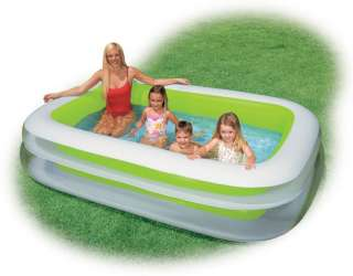intex swim center inflatable family swimming pool 56483ep new cool off