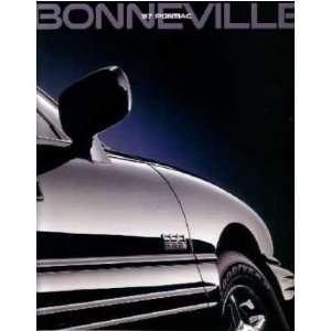 1997 PONIAC BONNEVILLE Sales Brochure Lieraure Book