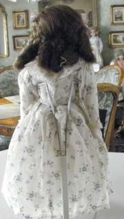 Beautiful Large French/German Antique 24 Composition Doll
