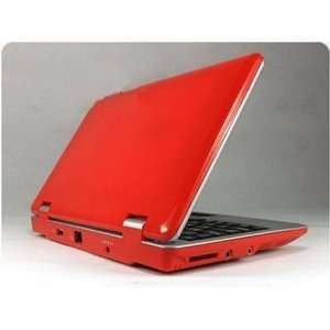 Red 7 Mini Netbook Laptop Notebook Wifi 2gb Hd Ce