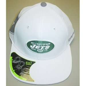 New York Jets Pro Shape 2 in 1 Visor Reebok Hat Size L/XL