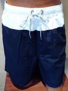 NWT MENS NAUTICA SWIMWEAR TRUNKS BOARD SHORTS L XL