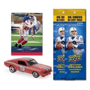 New York Giants 1967 Ford Mustang Fastback Die Cast with