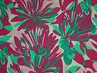 bty PINK GREEN NYLON LYCRA FABRIC FLORAL STRETCH FABRIC SWIM fabric