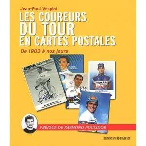 les coureurs du tour de France en cartes postales