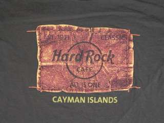 HARD ROCK CAFE Cayman Islands Classic T Shirt   FREE