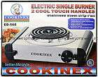 ELECTRIC PORTABLE COOKING STOVE SINGLE BURNER   COOKINEX ED560
