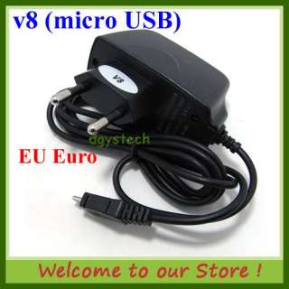 micro USB EU Travel Charger for Samsung Galaxy S i9000 Galaxy S2 i9100