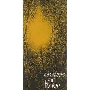 Essays on Love (9780877846697) Walter Trobisch Books
