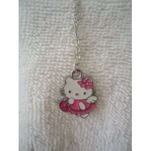 Hello Kitty Pink Dress Necklace