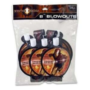 Blow Outs 8 Piece Iron Man Case Pack 72 by Iron Man