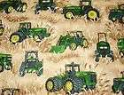 JOHN DEERE FIELDS OF WHEAT NURSE & VET SCRUB TOP