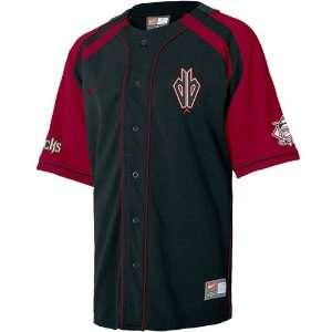 Nike Arizona Diamondbacks Black Hardball Jersey Sports