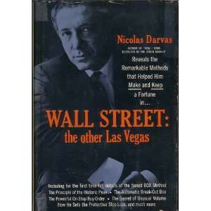 Wall Street the Other Las Vegas. Books