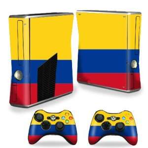 Protective Vinyl Skin Decal Cover for Microsoft Xbox 360 S