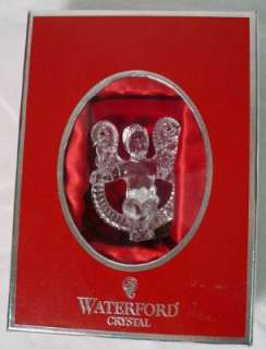 WATERFORD crystal ANGEL ORNAMENT 2005 series #2
