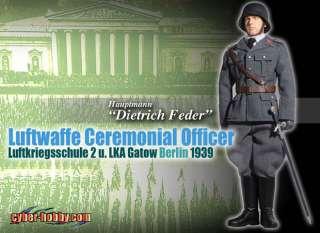 Dragon CH 1/6 Scale WWII German Officer Dietrich Feder