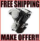 NEW REVTECH 100 BLACK & CHROME ENGINE MOTOR HARLEY SOFTAIL EVOLUTION