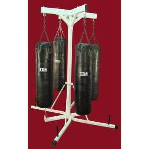 Four Heavy Bag Stand