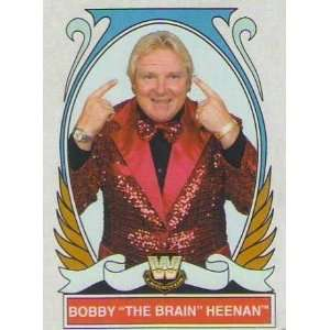 2008 Topps Heritage IV WWE #75 Bobby The Brain Heenan: Everything Else