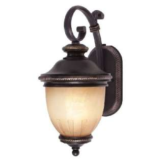 Light Small Outdoor Wall Lamp Lighting Fixture, Bronze, Energy Star