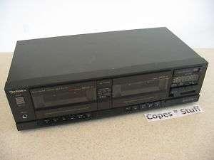 Technics RS T22 Dual Cassette Deck