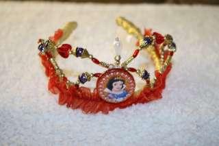 Girls Disney Dress Up Snow White beaded crown