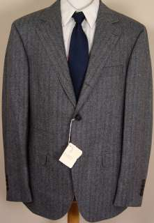 BRUNELLO CUCINELLI SUIT $3695 DARK GRAY WOOL/CASHMERE 3 BTN SUIT 44R