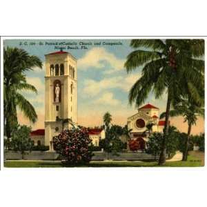 Catholic Church and Campanile, Miami Beach, Fla: Home & Kitchen