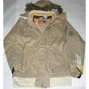 Special Blend Jacket Bronx Tan Check Md   VK2JKTSBBRTC2