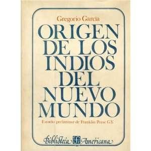 Origen de los indios del Nuevo Mundo (Biblioteca americana