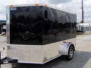plus 2ft v nose 12 ft inside enclosed cargo motorcycle 2 bike trailer
