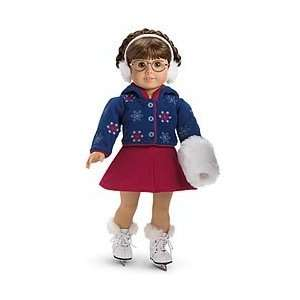 American Girl Mollys Skating Outfit for Doll Toys & Games