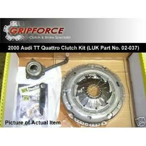 LUK 2000 Audi Tt Quattro NEW Clutch Kit w/ Slave Cyl