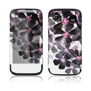 Asian Flower Paint Decorative Skin Decal Sticker for HTC Mozart T8698