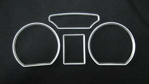 VOLKSWAGEN VW POLO 9N MK4 Chrome Gauge Dash Bazels Ring
