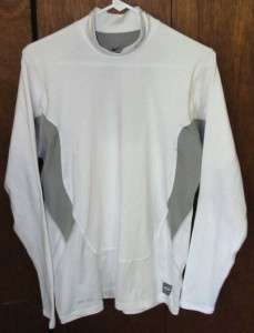 Nike Pro Combat Dri Fit Long Sleeve Athletic Shirt Mens Sz L GC
