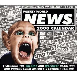 : Weekly World News (9780836292671): Andrews McMeel Publishing: Books
