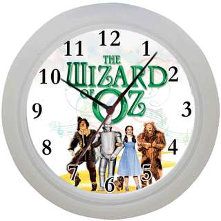 Framed Wall Clock Wizard of Oz Judy Garland Fan Ideal Gift Bedroom