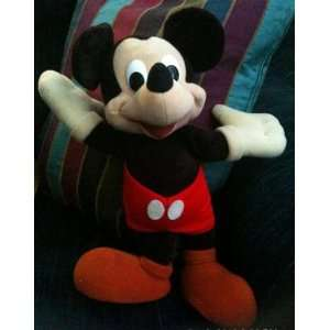 MICKEY MOUSE 15 COLLECTIBLE RARE PLUSH DOLL FROM THE 1970