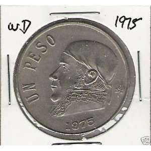 1975 Mexico Peso Coin (Uncirculated)