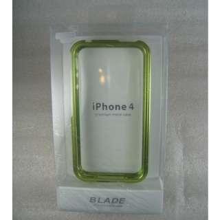NEW Deluxe Blade Full Metal Aluminum Bumper Case Cover Skin IPhone 4