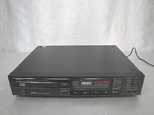 DENON DCD 1100 PCM AUDIO TECHNOLOGY/COMPACT DISC PLAYER VINTAGE 80s