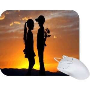 Rikki Knight Love and Romance Design Mouse Pad Mousepad