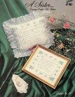 Cross Stitch Pattern A Sister Pat Waters Country Crafts