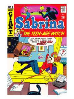 Archie Comics Retro Sabrina the Teen age Witch Comic Book Cover #1